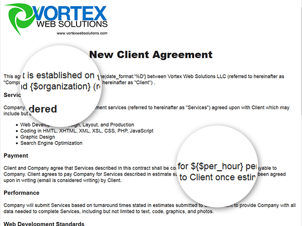 Examples – Sample of Contract Agreement Between Two Companies