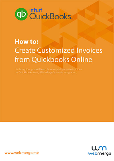 Create Customized Invoices from Quickbooks Online thumbnail